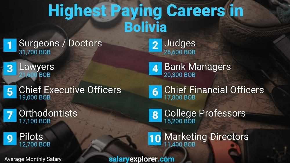 Highest Paying Jobs In Bolivia
