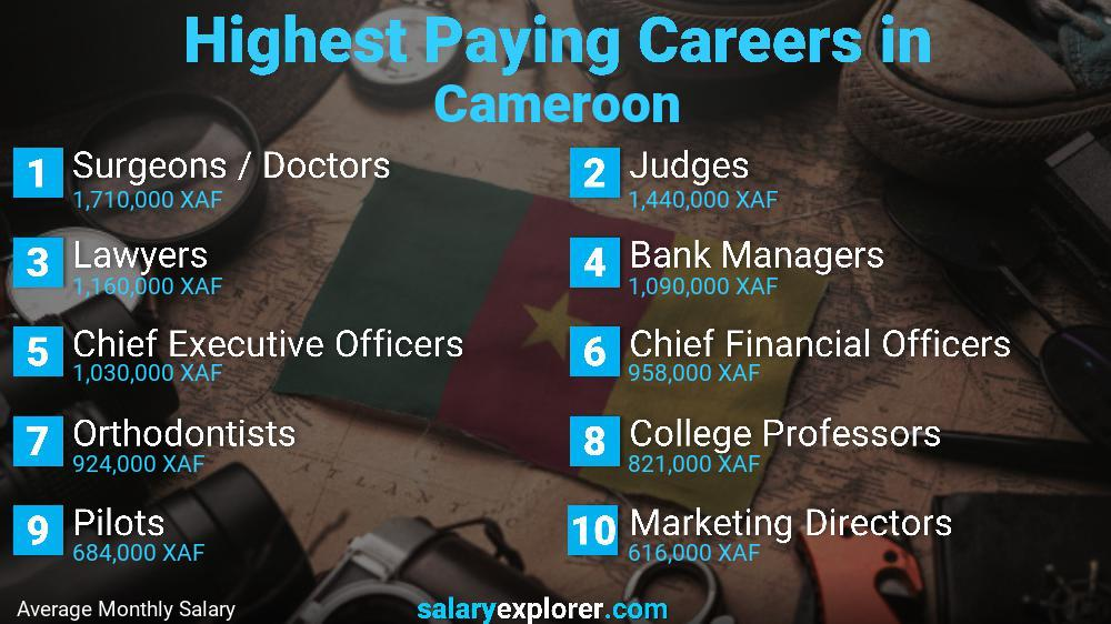 Highest Paying Jobs In Cameroon