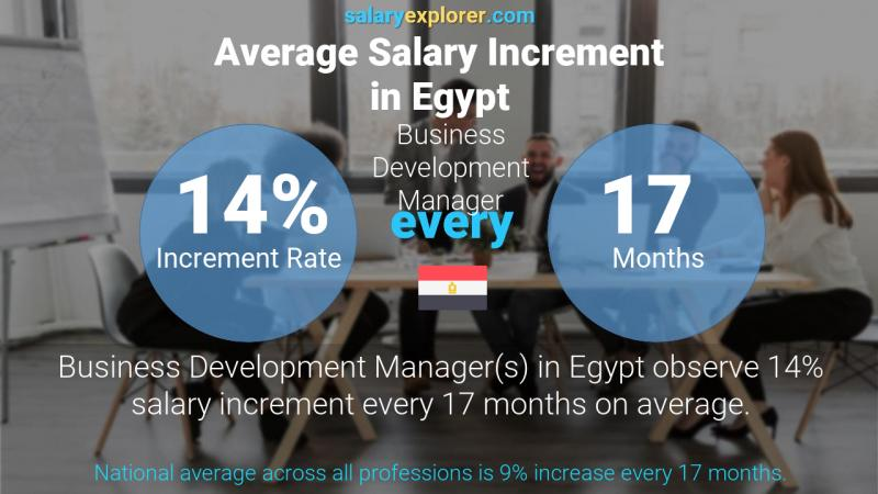 Annual Salary Increment Rate Egypt Business Development Manager