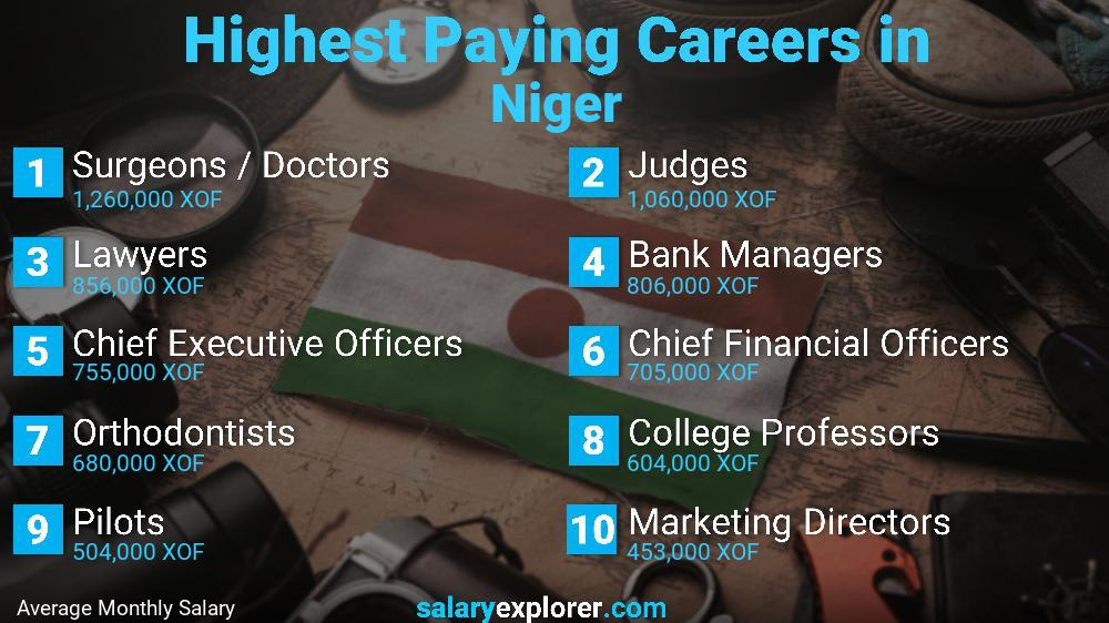 Highest Paying Jobs In Niger