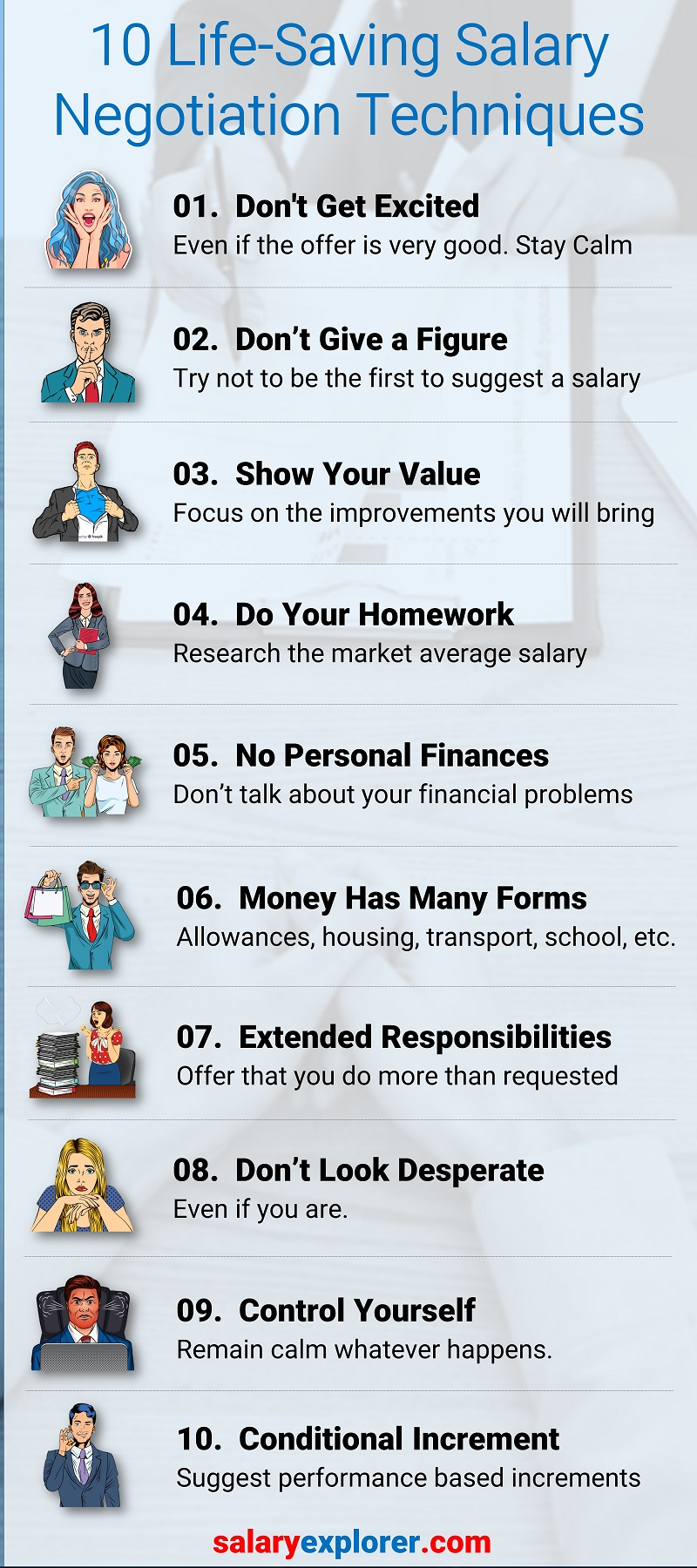 10 Life-Saving Salary Negotiation Tips for Job Seekers